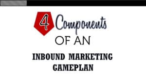 The 4 Components Of An Inbound Marketing Gameplan
