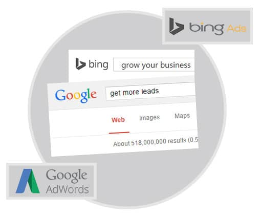 Google AdWords Bing Management Services