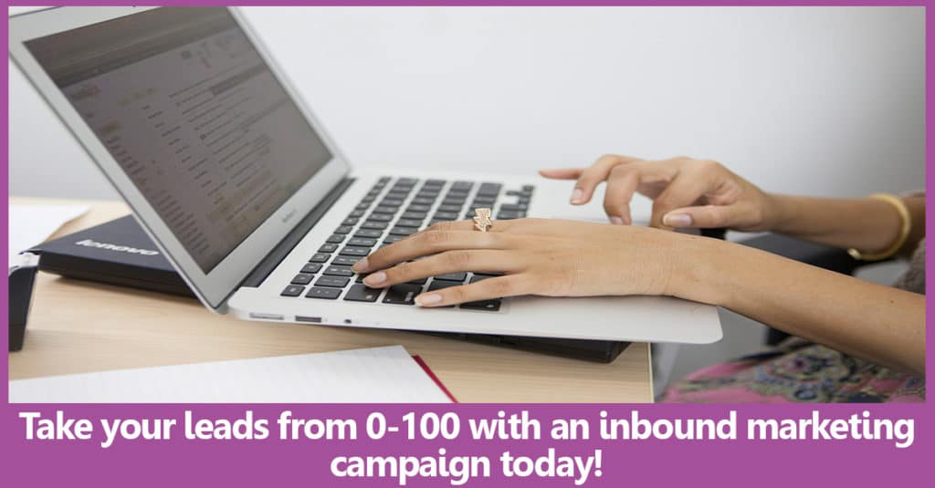 Creating a successful inbound marketing campaign